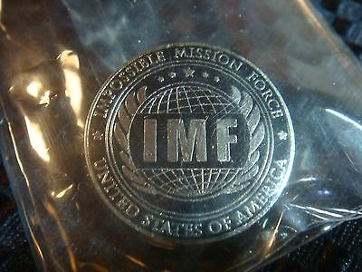 IMAX Exclusive Mission Impossible Rogue Nation IMF Pin BRAND NEW Sealed