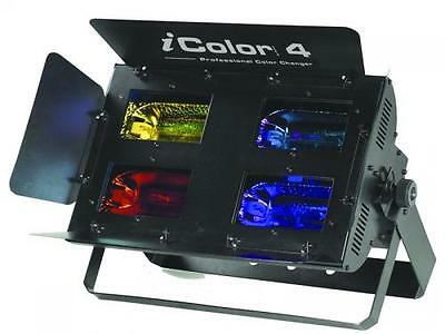 iSolution IColor 4 Twin Pack Halogen Colour Flood With Dichroic Glass & Pedal