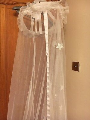 Next Bed Canopy With Silver Star Detailing £30.00