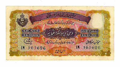 India ... P-S274e ... 10 Rupees ... ND(1946-47) ... *VF-XF*