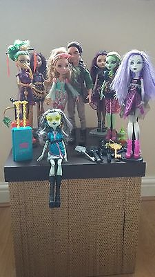Monster High and Ever After High Doll Bundle