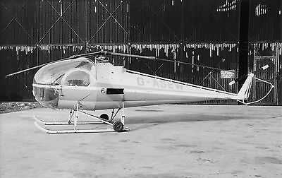 Brantley B-2B, G-ASEW at Stansted, circa 1967; original 'not period' photo