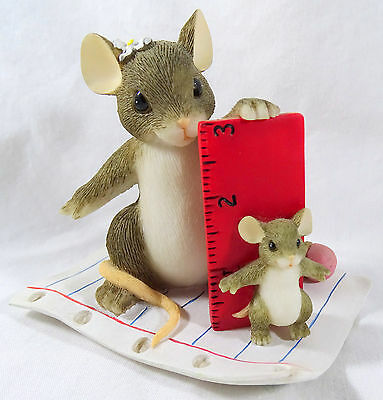Charming Tails Figurine You Always Measure Up