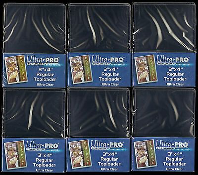 ONE DOZEN ULTRA PRO (25 count) TOPLOADERS with SLEEVES.