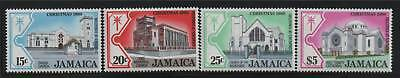 Jamaica 1980 Christmas Churches SG 503/6 MNH
