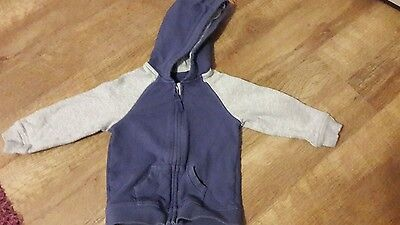 toddlers zip cardigan  size 12.18 months
