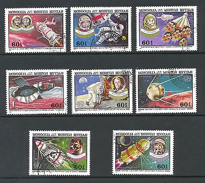Mongolia 1982 SG 1485-92 Space Conference  CTO