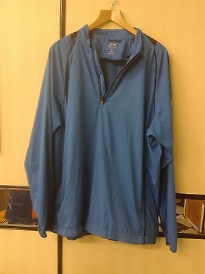 ADIDAS GOLF Men Blue Climaproof Very Light Jacket  Size XL