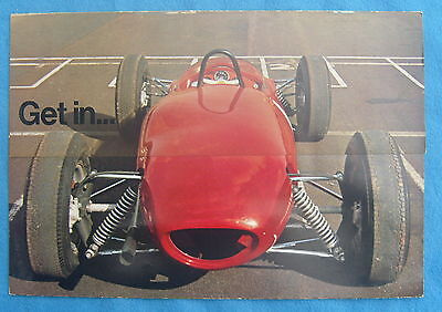 Grovewood Race-a-Car Brochure Formula 3 Lotus Free P&P to UK