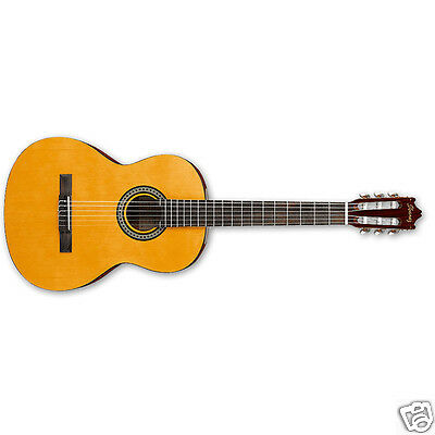 Ibanez Classical Nylon String Acoustic Guitar GA3 Amber Finish NEW