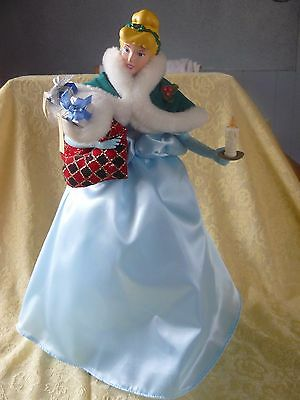Disney's Classic Cinderella Animated Musical Doll with Christmas Stockings