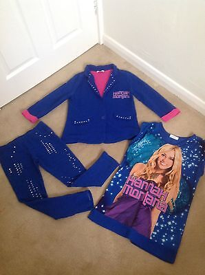 Fabulous Girls Disney Store 3 Piece Hannah Montana Set Trousers, Jacket Top 9-10