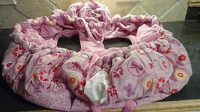 Floppy Seat Baby Toddler Shopping Cart Cover/Protection pink