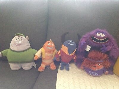 Disney Pixar Monsters University soft toys