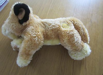 Disney Store Exclusive Simba Soft Toy - USED
