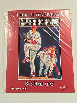 Roy Halladay Pride Of The Philadelphia Phillies 2010 Print Sga