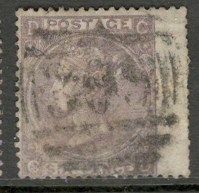 Queen Victoria - SG 105 -  6d. - Lilac - Plate 6 - Used ( ₤100.00)