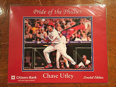 Chase Utley Pride Of The Philadelphia Phillies Print Sga
