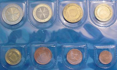 Lot De Pieces Euro Malte 2008
