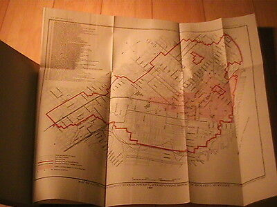 1907 Usgs Report On San Francisco Earthquake Effects On Structural Materials Map
