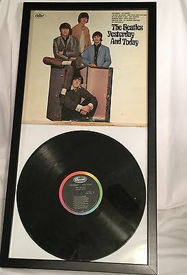Butcher Cover * Beatles * Yesterday and Today * 2nd State * Framed * Monophonic