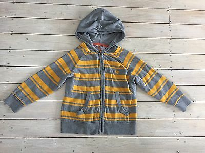 Fat Face Zipped Hoodie Size 6-7 Years VGC