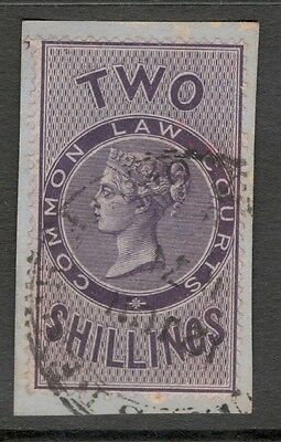 Queen Victoria - 2s  - Lilac  - Common Law Court - Official .