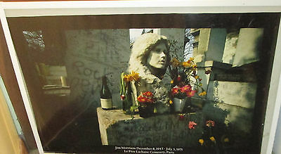 Jim Morrison Poster Live New Never 2008 Vintage  Grave The Doors