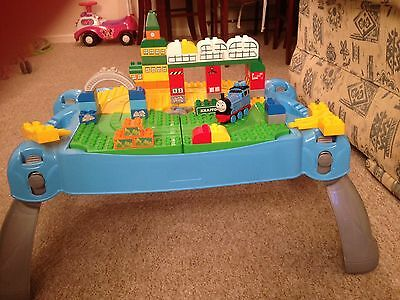 Thomas Tank Engine Mega Blocks Table
