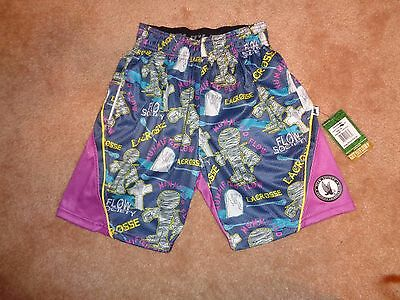 Youth Extra Small Flow Society Mummy Flow Lacrosse Shorts. NWT
