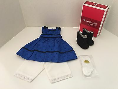 American Girl Addy's Meet Outfit   Brand NEW in AG Box