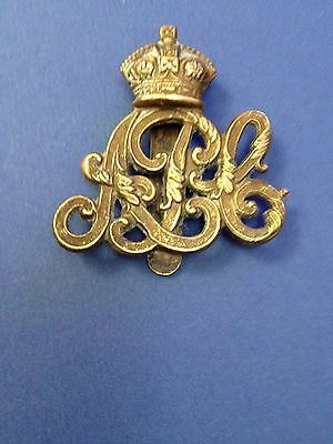 Military Cap Badge Army Pay Corps British Army