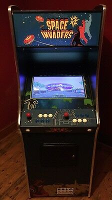 Mame Full Size Arcade Machine Space Invader Cabinet