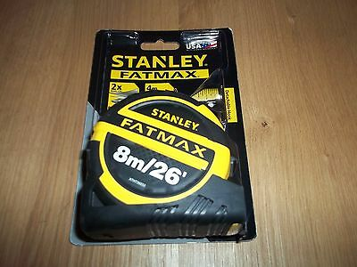 Stanley 8Mtr Fat Max Tape