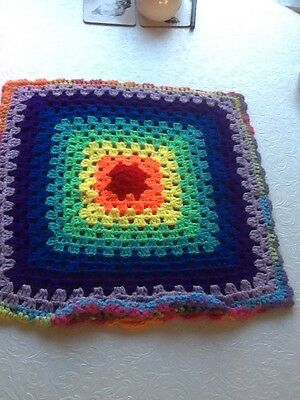 cushion cover crochet ideal from a camper