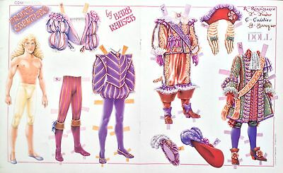 Prince Charming Mag. Paper Doll By Barb Rausch, 1993