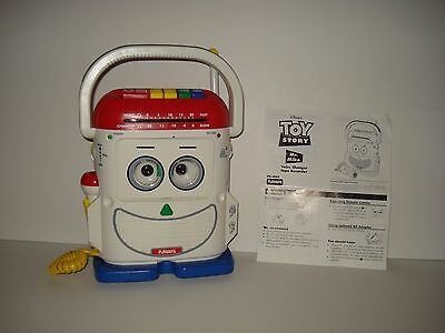 Vintage Playskool 1996 Toy Story Mr Mike Voice Changer Cassette Player Recorder