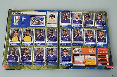 album panini complet Mondial South Africa 2010
