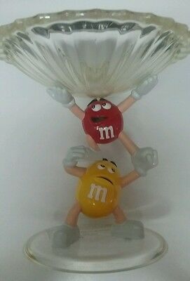 M & M Character Plastic Candy Dish