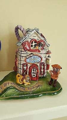 Blue Sky Clayworks Healther Goldminc candle house Over the Hill Club House