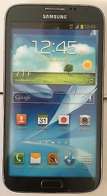 (1) Samsung Galaxy Note II T-MOBILE Black Mock Up Display Phone NON FUNCTIONING