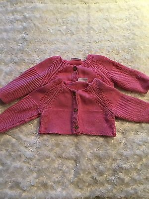 Baby Girl Next Cardigans (twins)