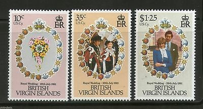 British Virgin Islands 1981 Royal Wedding MNH