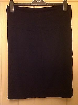 Seraphine Black Super Stretch Maternity Pencil Skirt Size 10