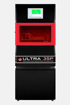 EnvisionTec's ULTRA 3SP High Definition 3D Printer  +  3d systems UV curing unit