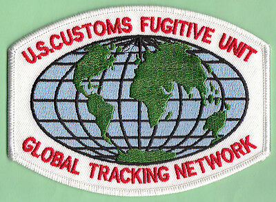 U12 * Rare Global Tracking Uscs Dhs Ins Federal Agency Ice Fbi Swat Police Patch