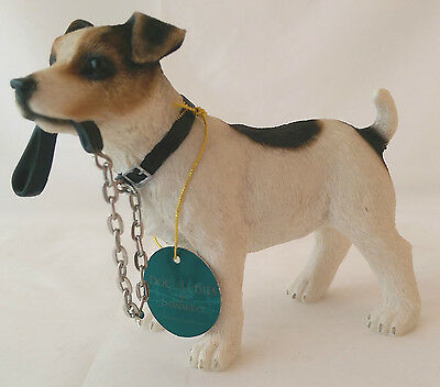 Quality ornament of a Jack Russell Terrier by Leonardo. Detailed Staffy.