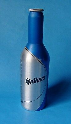 Quilmes Beer First Aluminum Bottle Without Crown Cap Argentina Empty 2006