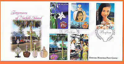 Norfolk Island 2001 Perfume Fragrances FDC Mint Condition