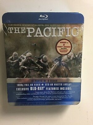 The Pacific (Blu-ray Disc, 2010, 6-Disc Set) NEW